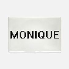 Monique Digital Name Magnets
