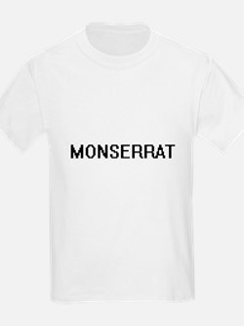 Monserrat Digital Name T-Shirt