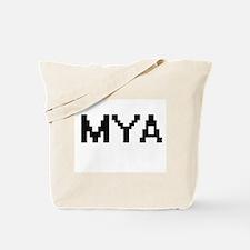 Mya Digital Name Tote Bag