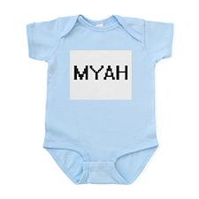 Myah Digital Name Body Suit