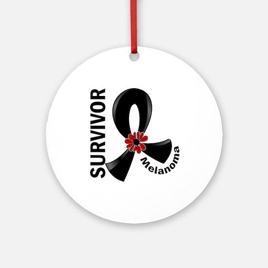 Melanoma Survivor 12 Ornament (Round)