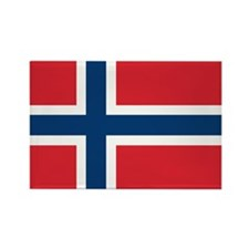 Norway Norwegian Flag Rectangle Magnet