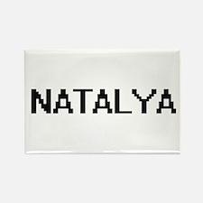 Natalya Digital Name Magnets