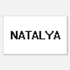 Natalya Digital Name Decal