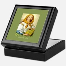 Saint Dymphna Clover Keepsake Box