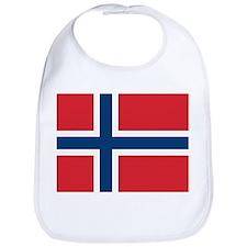 Norway Norwegian Flag Bib