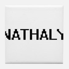 Nathaly Digital Name Tile Coaster
