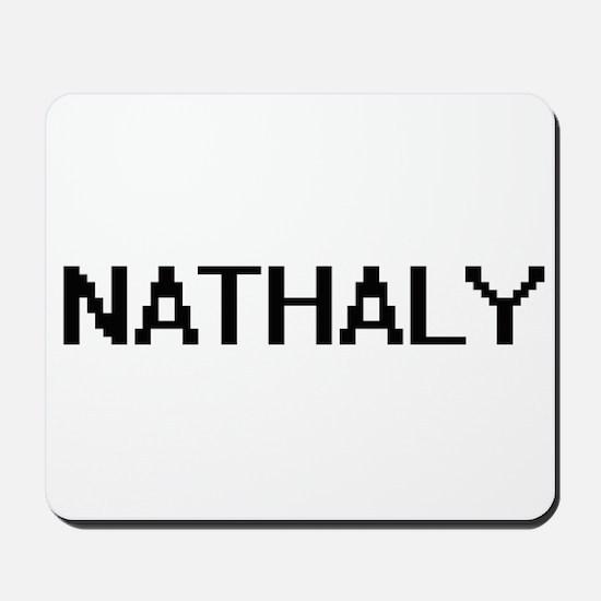 Nathaly Digital Name Mousepad