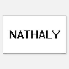 Nathaly Digital Name Decal