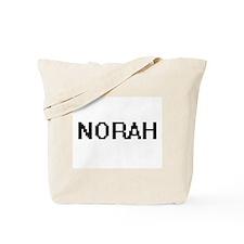 Norah Digital Name Tote Bag