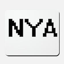 Nya Digital Name Mousepad