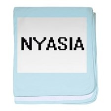 Nyasia Digital Name baby blanket