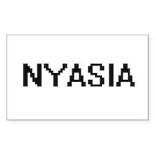 Nyasia Digital Name Decal