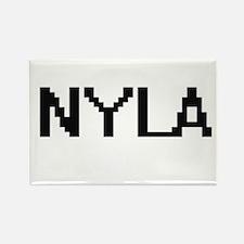 Nyla Digital Name Magnets