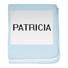 Patricia Digital Name baby blanket