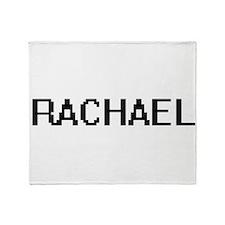 Rachael Digital Name Throw Blanket