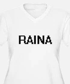 Raina Digital Name Plus Size T-Shirt