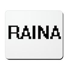 Raina Digital Name Mousepad