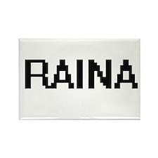 Raina Digital Name Magnets
