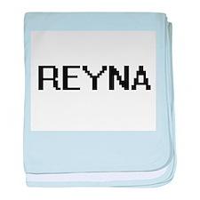 Reyna Digital Name baby blanket