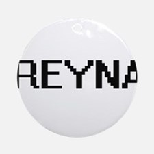 Reyna Digital Name Ornament (Round)