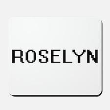 Roselyn Digital Name Mousepad
