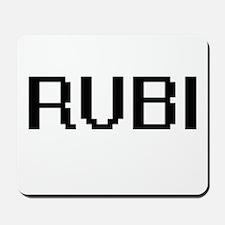 Rubi Digital Name Mousepad