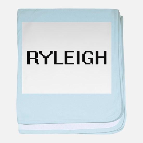 Ryleigh Digital Name baby blanket