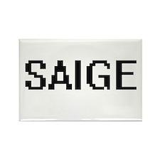 Saige Digital Name Magnets