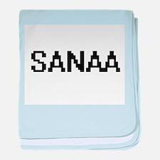 Sanaa Digital Name baby blanket