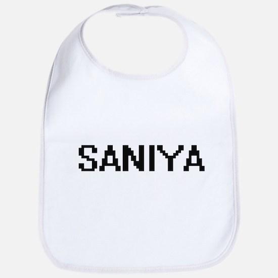 Saniya Digital Name Bib