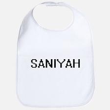 Saniyah Digital Name Bib