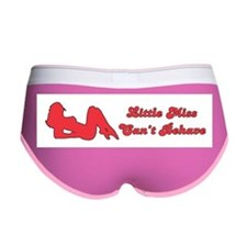 LITTLE MISS CAN'T BEHAVE Women's Boy Brief