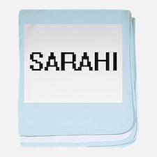 Sarahi Digital Name baby blanket
