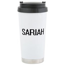 Sariah Digital Name Thermos Mug