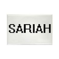 Sariah Digital Name Magnets