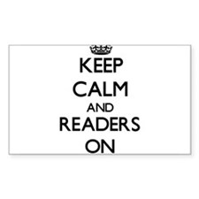 Keep Calm and Readers ON Decal