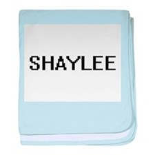 Shaylee Digital Name baby blanket