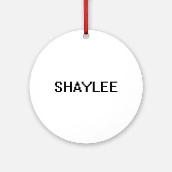 Shaylee Digital Name Ornament (Round)