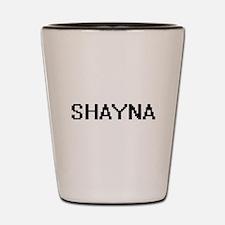 Shayna Digital Name Shot Glass
