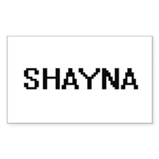 Shayna Digital Name Decal