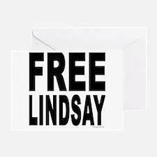 Free Lindsay #1 Greeting Card
