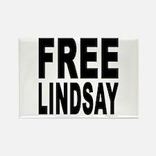 Free Lindsay #1 Rectangle Magnet