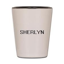 Sherlyn Digital Name Shot Glass