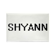 Shyann Digital Name Magnets