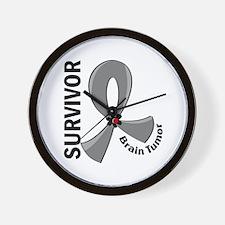 Brain Tumor Survivor 12 Wall Clock
