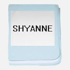 Shyanne Digital Name baby blanket