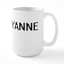 Shyanne Digital Name Mugs