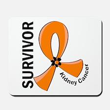 Kidney Cancer Survivor 12 (Orange) Mousepad