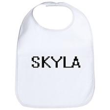 Skyla Digital Name Bib